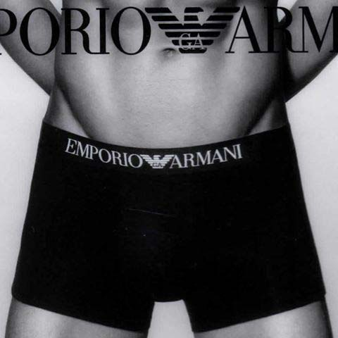 Pack de 3 Trunks Emporio Armani 110850 C518
