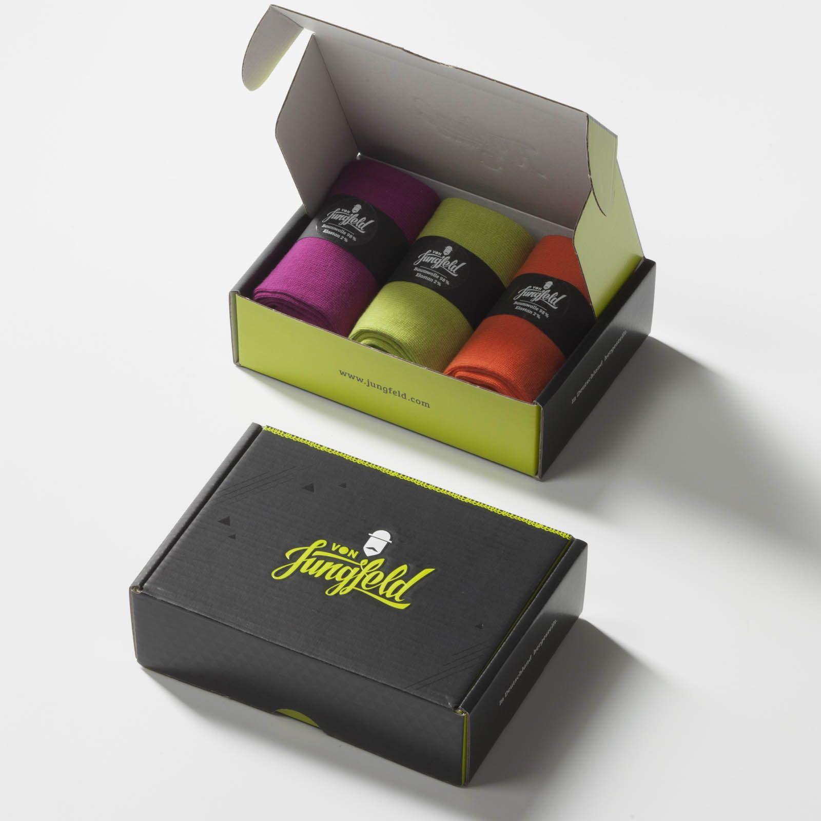 Pack of 3 Knee Socks Von Jungfeld BTM