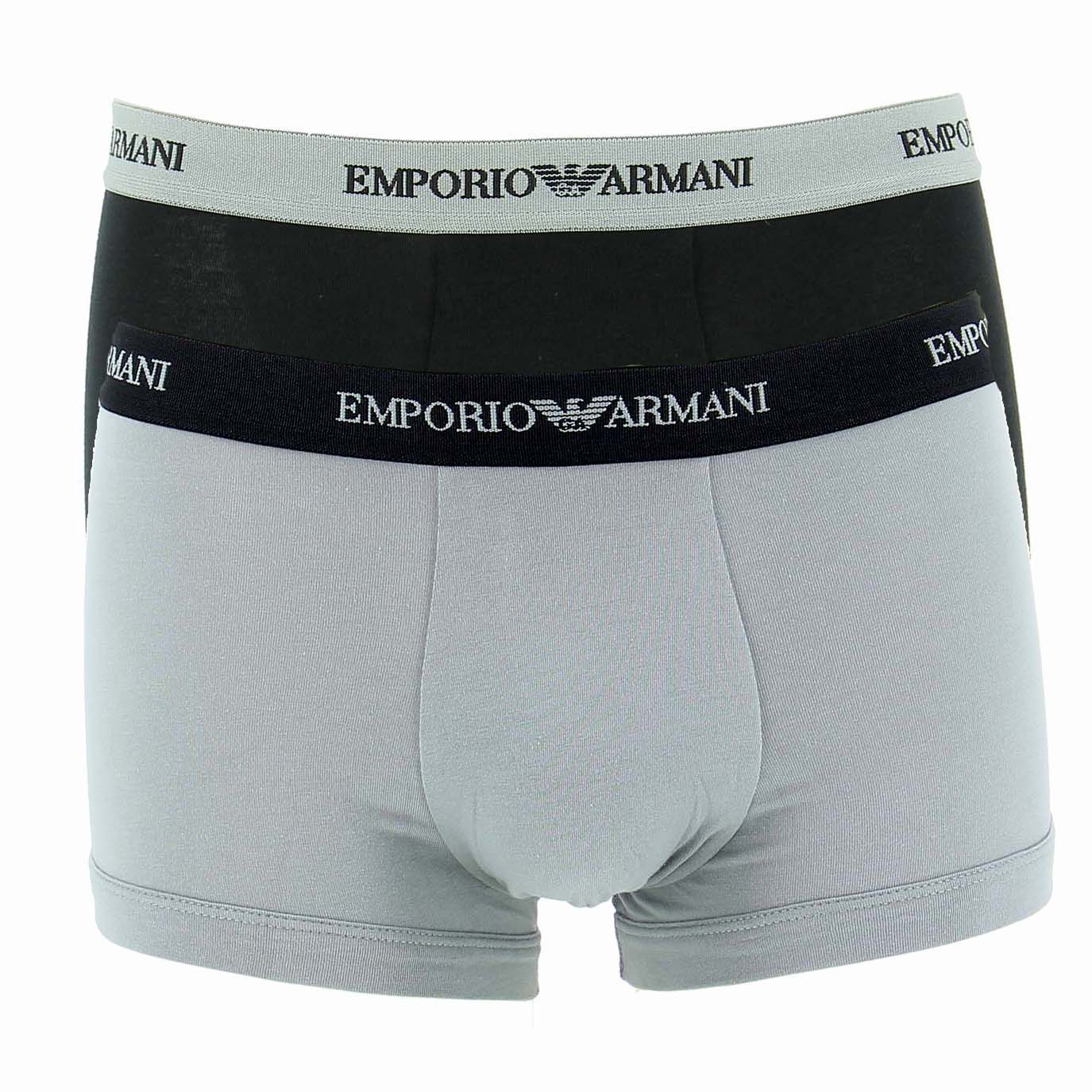 Pack 2 Trunks Emporio Armani 111210 C717