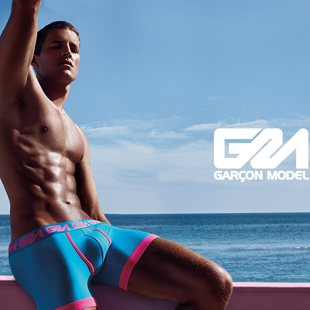 Boxer Brief Garçon Model OCEAN
