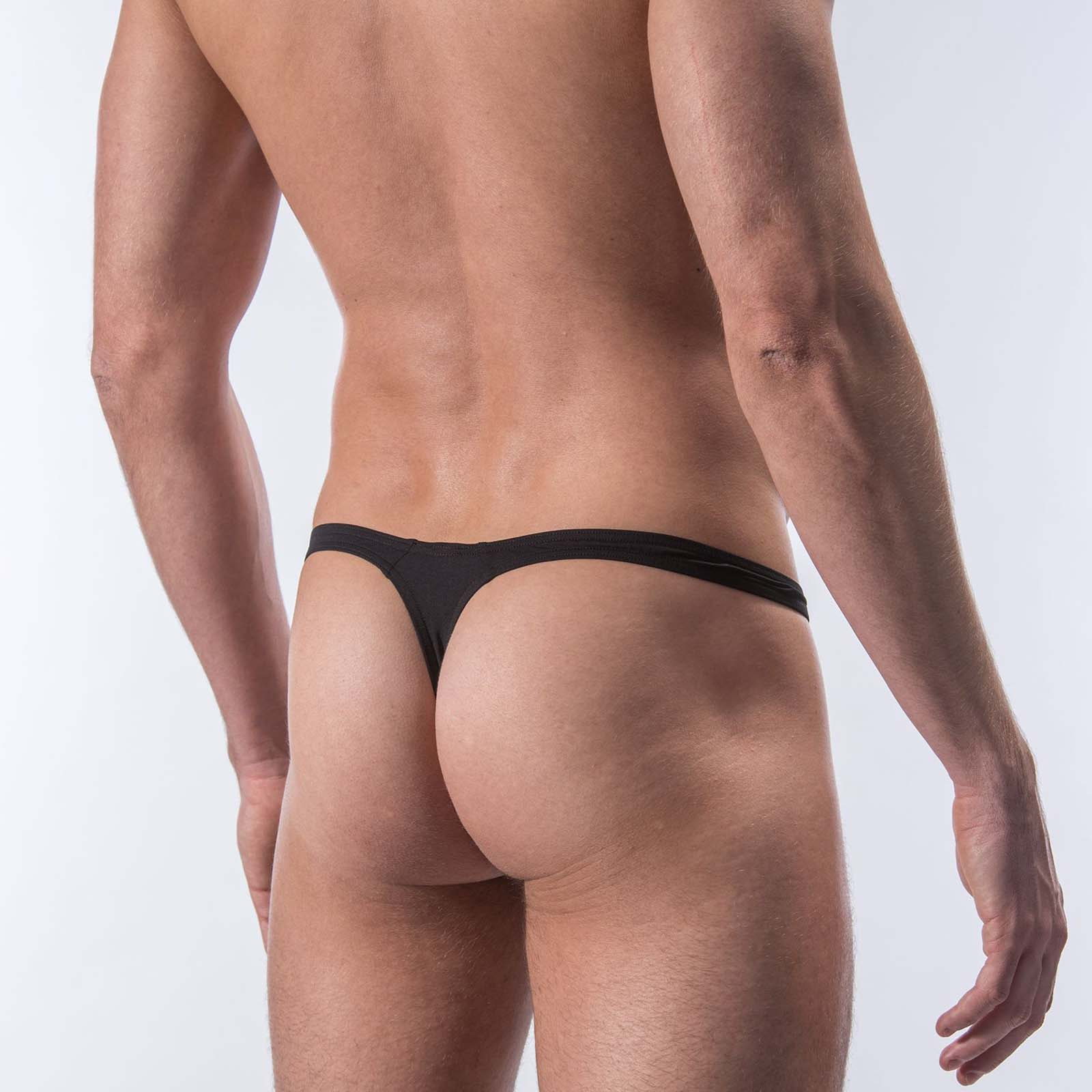 Manstore Messieurs surprise Pack Pant string m103 Taille S-L Black NEUF